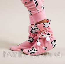 Домашняя обувь Dika Угги DK29 розовые L/XL