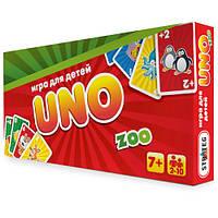 """Настольная игра Уно """"UNO: Детская ZOO"""", в коробке 28-14,5-3 см"""