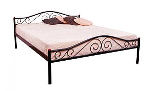 Кровать метал Элис люкс ножки метал