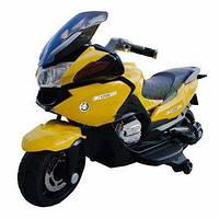 Детский мотоцикл Tilly (T-726 YELLOW) с одним мотором