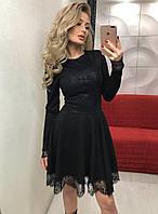 """Женское нарядное трикотажное платье """"Алеся"""""""