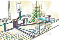 Монтаж горячего и холодного водоснабжения домов