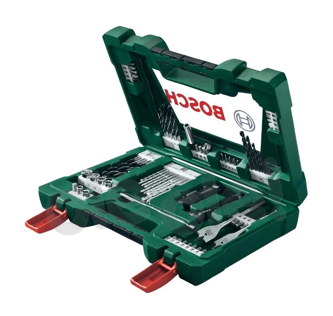 Набор сверл и бит 68 элементов Bosch V-Line