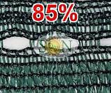 Сетка затіняюча, маскувальна в рулоні 1.5*100м 85% Угорщина, фото 5