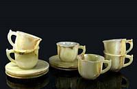 Чашка для кофе из оникса (комплект 6 шт)