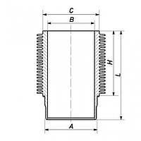 Гильза цилиндра  DEUTZ 912 - 100mm (04157756)