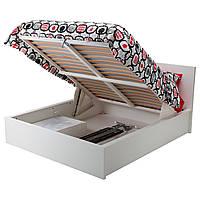 Кровать с ящиками IKEA MALM
