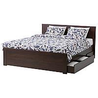 Кровать/4 контейнеры IKEA BRUSALI
