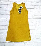 Майка желтая удлиненная Deha