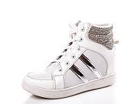 Женские модные ботинки - сникерсы оптом 1115-3 (8пар, 36-41)