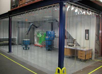 Теплоизолирующие шторы ПВХ | Ленточные ПВХ завесы | Прозрачные пластиковые термошторыизПВХ