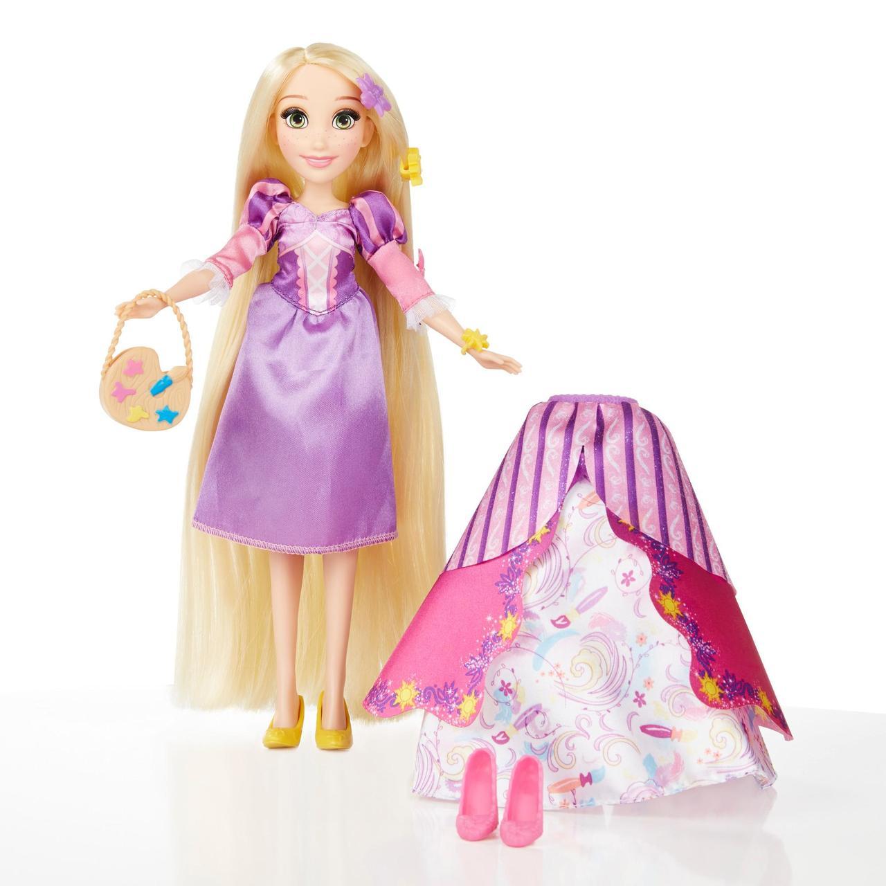 Disney Princess Рапунцель зі змінними сукнями (Кукла Дисней Рапунцель с красивыми нарядами, Rapunzel)