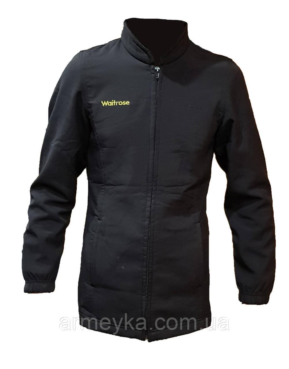 Влаго/ветростойкая куртка Softshell Dimensions. Черная.