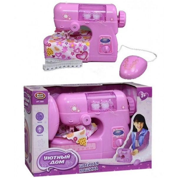 Игрушечная швейная машинка.Детская швейная машинка.Игрушки для девочек.