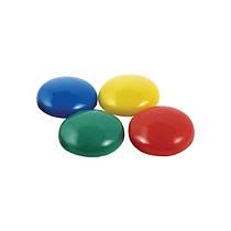 Магниты для досок d-3 см набор 6шт разноцветные