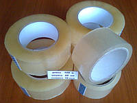 Скотч упаковочный 100м*48мм*38мкм прозрачный, прочный, клейкая универсальная лента упаковочная купить
