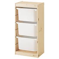 Шкаф с контейнерами IKEA TROFAST