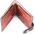 Стильные мужские кошельки из натуральной кожи краст UKR bag 3-1 цвет в ассортименте, фото 3