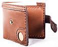 Стильные мужские кошельки из натуральной кожи краст UKR bag 3-1 цвет в ассортименте, фото 5