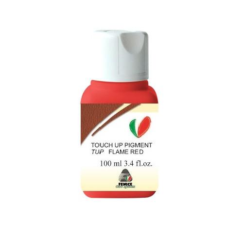 Фарба для шкіри TUP Flame Red, Червоний колір, 100 мл