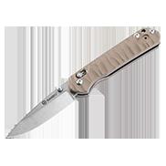 Нож Ganzo G717 желтый (84088)