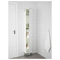 Высокий шкаф, зеркальная дверь IKEA LILLÅNGEN