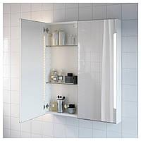Зеркальн шкафчик/подсветка IKEA STORJORM