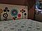 """Вінілова наклейка на стіну в дитячу кімнату """"Дивні квіти"""", фото 3"""