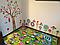 """Вінілова наклейка на стіну в дитячу кімнату """"Дивні квіти"""", фото 8"""