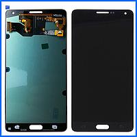 Дисплей (экран) для Samsung A700H Galaxy A7 (2015), A700F + тачскрин, черный, оригинал