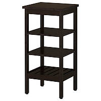 Стойка, черная и коричневая IKEA HEMNES