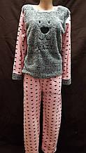 Уютные женские пижамы из нежнейшего флиса и махры