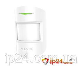 Ajax MotionProtect Plus белый беспроводной датчик движения
