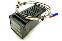 Контроллер температуры REX-C100 (PID-контроллер)+термопара