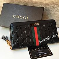 Женский кожаный кошелёк Gucci Гуччи