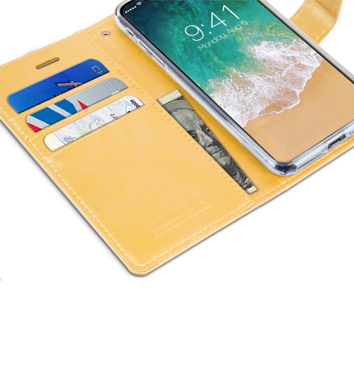 Mercury Goospery Blue Moon Series Iphone X 10 Ume Flip Cover For Xiaomi Redmi Note 3