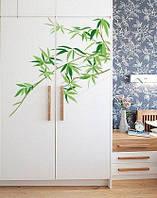 """Виниловая наклейка на мебель """"Ветка бамбука"""""""