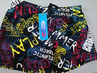 Плавки - шорты для плавания с узором