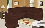 Защитный чехол на диван и кресло