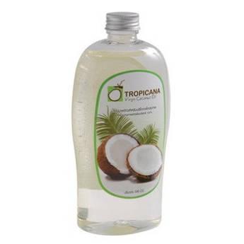 Кокосовое масло холодного отжима Tropicana 1000 мл