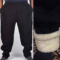 Мужские спортивные штаны в большом размере НА МЕХУ  1403