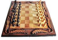Шахматы + Нарды резные ручной работы