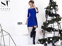 Нарядное платье с перфорацией 881084, фото 1