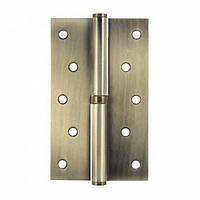 Петля дверная Apecs 125*75-b-steel-ab-l бронза (левая)