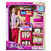 Кукла типа Барби Доктор с ребенком