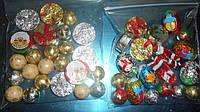 Набор Новогодних шоколадных шариков,150г
