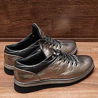 Женские кроссовки из кожи Viatu (7155.1) 36-40