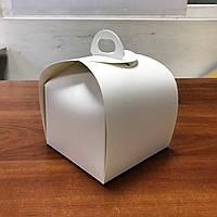 Коробка Бумажная КТ0400 Белая 11х11х11 см