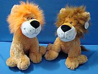 Лев 36 см мягкая детская игрушка плюшевый лев сидящий с качественных материалов