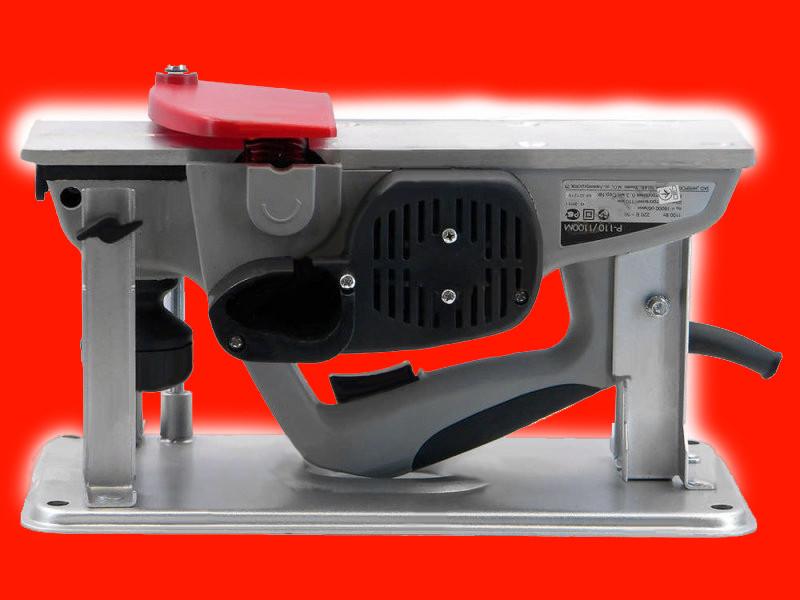 Электрический рубанок с подставкой Интерскол Р-110/1100М